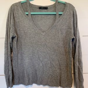 Zara soft lightweight knit sweater